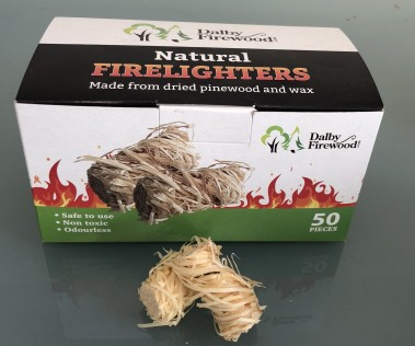 50 Natural Firelighters